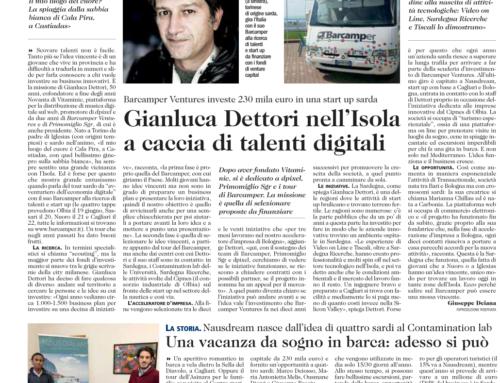 Nausdream gets €230000 from Gianluca Dettori's Barcamper Ventures
